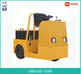 Tractor van het Slepen van het Type van Tribune van 3.0 Ton de Elektrische met Concurrerende Prijs