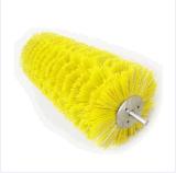 Balai jaune de disque de /Nylon du polypropylène (pp)