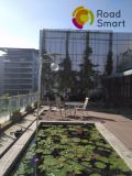 Licht van de Huisvesting van het Park van de Binnenplaats van de hoge LEIDENE van het Lumen het ZonneWeg van de Tuin