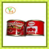 상표를 위한 공급자는 토마토 성분을%s 가진 토마토 페이스트를 통조림으로 만들었다