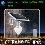Bluesmart 12W tutto in una lampada di via solare del giardino del LED
