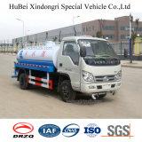 camion di serbatoio dello spruzzatore di trasporto dell'acqua dell'euro 4 di 2cbm 2ton Foton con il motore diesel