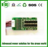 7s tarjeta de circuitos de protección del Li-ion BMS para el paquete de la batería de 25.9V 30A para el carrito de golf eléctrico