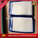 Conjunto de toalhas molhadas de viagem portátil impresso descartável a bordo