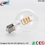 Dos bulbos novos E27 3W Edison do diodo emissor de luz de MTX diodo emissor de luz retro das ampolas da vela do diodo emissor de luz da vela da lâmpada 110V/220V G125 da luz da vela do bulbo do diodo emissor de luz do vintage
