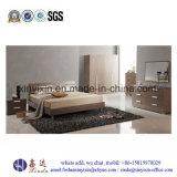 Schwarze weiße Farben-Melamin-Schlafzimmer-Möbel (SH-030#)