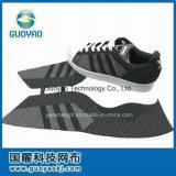 織り方の靴甲革、編まれた靴甲革