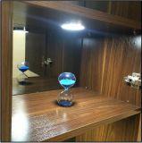 Luz del duende malicioso del sensor LED del barrido de la mano redonda para los muebles