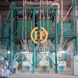 Disegno di macchina di macinazione di farina con il workshop