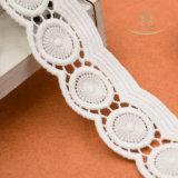 بيضاء هدب [سويسّ] نسيج رقيق شريط شريط زفافيّ