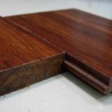 Suelo de bambú tejido hilo antiguo