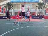 Azulejo de suelo caliente de la venta para el suelo del baloncesto, suelo de Futsal