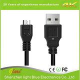 Cabo curto do carregador do USB do comprimento 15cm micro