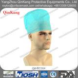 Casquillo redondo no tejido disponible de la enfermera para el uso quirúrgico y médico