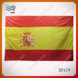 La bandiera nazionale su ordinazione stampata marchio superiore decora