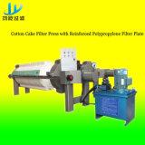 High-Precision Pers van de Katoenen Filter van de Cake met de Plaat van de Filter van de Legering van het Aluminium