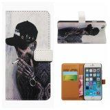 Аргументы за iPhone6 телефона PU бумажника печатание OEM кожаный плюс