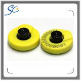 Icar autorizou a qualidade Lf/Hf/orelha animal da freqüência ultraelevada RFID o Tag