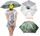 Mini chapeau principal de parapluie de Sun de pluie de petit de poissons chapeau de pli