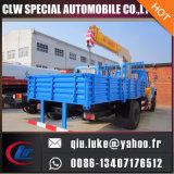 8 톤을%s 가진 DFAC 4X2 Mountd 기중기 트럭은 갑판 기중기를 전송한다