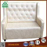 Sofà europeo di Seater di legno solido due della quercia di stile di nuova di disegno alta qualità calda di vendita