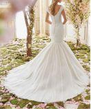肩の夜会服の花嫁のウェディングドレスCtd6842を離れて2017年