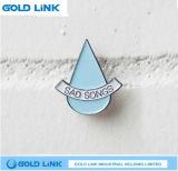 Pin de encargo de la solapa de la divisa del metal del Pin del paño del regalo de la promoción
