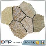 Ardósia natural pedra de pavimentação engrenada para ajardinar