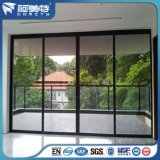 Profilo di alluminio del rivestimento della polvere nera del rifornimento della Cina per la finestra francese della stoffa per tendine