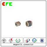 Fábrica magnética personalizada do conetor da C.C. 1pin