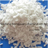 氷の溶解または雪の溶解のためのカルシウム塩化物77%の薄片