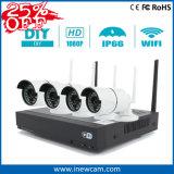 Kit senza fili della macchina fotografica NVR del IP di promozione 4CH 1080P