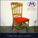 PU-Kissen-Großverkauf-Aluminiumbankett-Hall-Möbel verwendete Bankett-Stühle