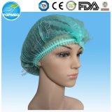 Chapeau non-tissé remplaçable de foule/chapeau de clip/filet à cheveux/chapeau chirurgical