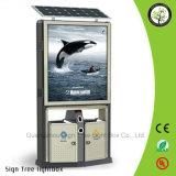 Cadre de publicité imperméable à l'eau extérieur d'éclairage LED d'énergie solaire d'étalage de qualité
