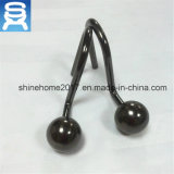Кром гостиницы или домашних использования/Nikel/покрынный бронзой крюк занавеса ливня шарика