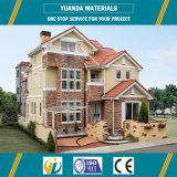 Casa prefabricada de la casa prefabricada del edificio de la estructura de acero