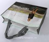 薄板にされた非編まれたショッピング・バッグ、Customizdのサイズのトートバック