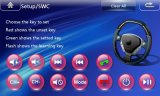 Wince 6.0 Quad Core 2 DIN Capacitive Touch Screen Car Navigation com Bt iPod 3G Vmcd FM Am para Mg 3