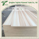 La melamina blanca de la madera contrachapada de la melamina del buen precio hizo frente a la hoja de la madera contrachapada
