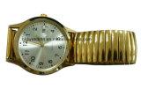 أثر قديم متناظر ترقية مرو هبة ساعة مع جلد نطاق