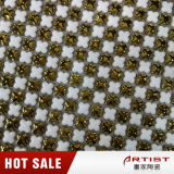 Мозаика с плакировкой металла, золото керамическое Mosaicl малого обломока керамическая