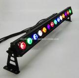 Управление RGBW 14X10W DMX с светом шайбы стены освещения СИД влияния гоньбы напольным