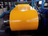 Лист толя металла PPGL 1200mm покрынный цветом в гальванизированной катушке