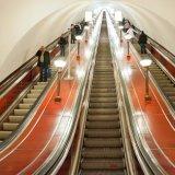 escada rolante interna do corredor liso da altura do curso de 5000mm