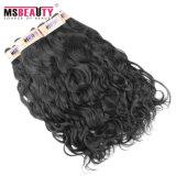 卸し売り加工されていない性質の波のバージンのインドの人間の毛髪の織り方