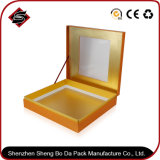 Rectángulo de papel de empaquetado modificado para requisitos particulares del regalo del rectángulo de la insignia