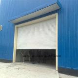 Porte automatique de garage d'obturateur de rouleau de l'alliage d'aluminium