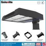 Im Freienled-Parkplatz-Beleuchtung-Bereichs-Licht 150W LED Shoebox, das 150 Watt beleuchtet