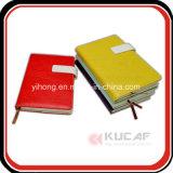 Custom Magnetic Closure Leather Journal Diário de viagem e impressão de calendário